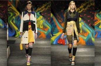 Fashion as Art from MFW feat. Prada, Etro, Alberta Ferretti