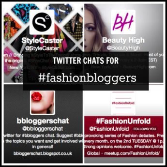 Five Twitter Chats Every Fashion & Beauty Blogger Should Know